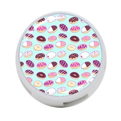 Donut Jelly Bread Sweet 4 Port Usb Hub (two Sides)  by Mariart