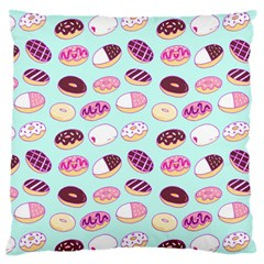 Donut Jelly Bread Sweet Standard Flano Cushion Case (one Side) by Mariart