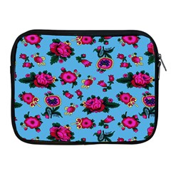 Crown Red Flower Floral Calm Rose Sunflower Apple Ipad 2/3/4 Zipper Cases by Mariart