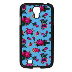 Crown Red Flower Floral Calm Rose Sunflower Samsung Galaxy S4 I9500/ I9505 Case (black) by Mariart