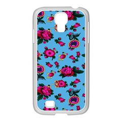 Crown Red Flower Floral Calm Rose Sunflower Samsung Galaxy S4 I9500/ I9505 Case (white) by Mariart