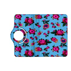 Crown Red Flower Floral Calm Rose Sunflower Kindle Fire Hd (2013) Flip 360 Case by Mariart