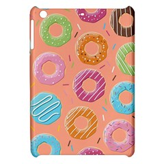 Doughnut Bread Donuts Orange Apple Ipad Mini Hardshell Case by Mariart