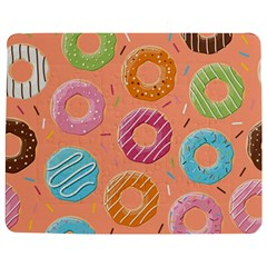 Doughnut Bread Donuts Orange Jigsaw Puzzle Photo Stand (rectangular) by Mariart