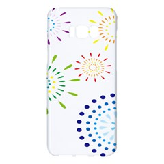 Fireworks Illustrations Fire Partty Polka Samsung Galaxy S8 Plus Hardshell Case  by Mariart