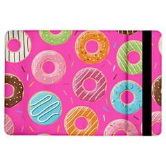 Doughnut Bread Donuts Pink Ipad Air Flip by Mariart