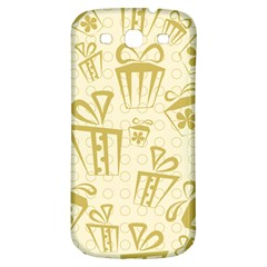 Gift Party Polka Grey Samsung Galaxy S3 S Iii Classic Hardshell Back Case by Mariart