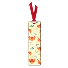 Foxes Animals Face Orange Small Book Marks by Mariart