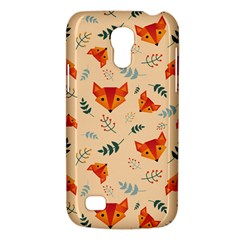 Foxes Animals Face Orange Galaxy S4 Mini by Mariart