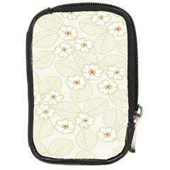Flower Floral Leaf Compact Camera Cases by Mariart