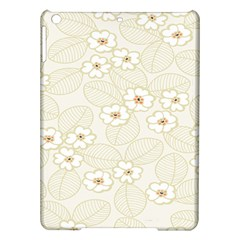 Flower Floral Leaf Ipad Air Hardshell Cases by Mariart