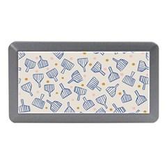 Glass Polka Circle Blue Memory Card Reader (mini) by Mariart