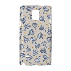 Glass Polka Circle Blue Samsung Galaxy Note 4 Hardshell Case