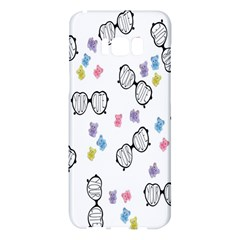 Glasses Bear Cute Doll Animals Samsung Galaxy S8 Plus Hardshell Case  by Mariart