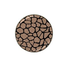 Skin1 Black Marble & Brown Colored Pencil Hat Clip Ball Marker (10 Pack) by trendistuff