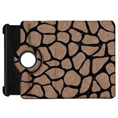 Skin1 Black Marble & Brown Colored Pencil Kindle Fire Hd Flip 360 Case by trendistuff