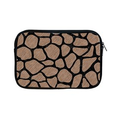 Skin1 Black Marble & Brown Colored Pencil Apple Ipad Mini Zipper Case by trendistuff