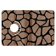 Skin1 Black Marble & Brown Colored Pencil Kindle Fire Hdx Flip 360 Case by trendistuff