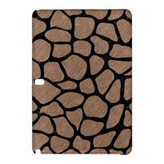 Skin1 Black Marble & Brown Colored Pencil Samsung Galaxy Tab Pro 12 2 Hardshell Case by trendistuff