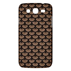 Scales3 Black Marble & Brown Colored Pencil (r) Samsung Galaxy Mega 5 8 I9152 Hardshell Case  by trendistuff