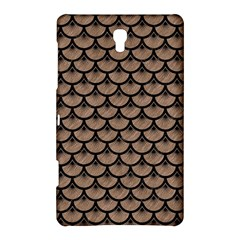 Scales3 Black Marble & Brown Colored Pencil (r) Samsung Galaxy Tab S (8 4 ) Hardshell Case