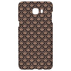 Scales2 Black Marble & Brown Colored Pencil (r) Samsung C9 Pro Hardshell Case  by trendistuff
