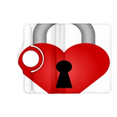 Heart Padlock Red Love Kindle Fire Hd (2013) Flip 360 Case by Mariart