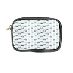 Glasses Black Blue Coin Purse by Mariart