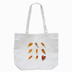 Hot Dog Buns Sate Sauce Bread Tote Bag (white) by Mariart
