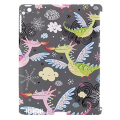 Dragonfly Animals Dragom Monster Fair Cloud Circle Polka Apple Ipad 3/4 Hardshell Case (compatible With Smart Cover) by Mariart
