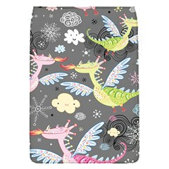 Dragonfly Animals Dragom Monster Fair Cloud Circle Polka Flap Covers (s)  by Mariart