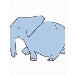 Illustrain Elephant Animals Drawstring Bag (large) by Mariart