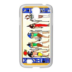 Ancient Egyptian Gods Samsung Galaxy S4 I9500/ I9505 Case (white) by retz