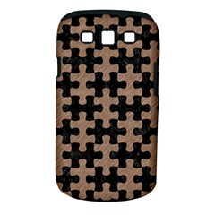 Puzzle1 Black Marble & Brown Colored Pencil Samsung Galaxy S Iii Classic Hardshell Case (pc+silicone) by trendistuff