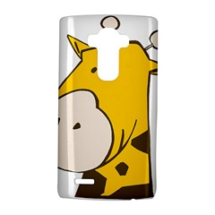 Illustrain Giraffe Face Animals Lg G4 Hardshell Case by Mariart