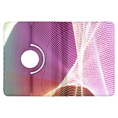 Light Means Net Pink Rainbow Waves Wave Chevron Kindle Fire Hdx Flip 360 Case by Mariart