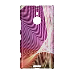 Light Means Net Pink Rainbow Waves Wave Chevron Nokia Lumia 1520 by Mariart