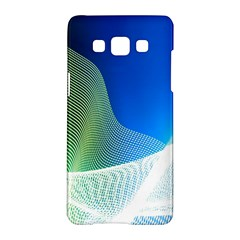 Light Means Net Pink Rainbow Waves Wave Chevron Green Blue Samsung Galaxy A5 Hardshell Case  by Mariart