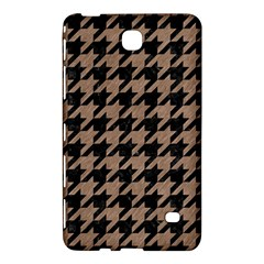 Houndstooth1 Black Marble & Brown Colored Pencil Samsung Galaxy Tab 4 (7 ) Hardshell Case  by trendistuff