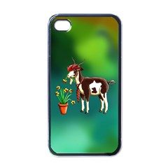 Billy Goat Phone Cases Apple Iphone 4 Case (black) by retz