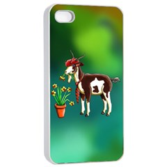 Billy Goat Phone Cases Apple Iphone 4/4s Seamless Case (white) by retz