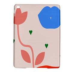 Lip Sexy Flower Tulip Heart Pink Red Blue Green Love Ipad Air 2 Hardshell Cases by Mariart