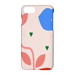 Lip Sexy Flower Tulip Heart Pink Red Blue Green Love Apple Iphone 7 Hardshell Case by Mariart