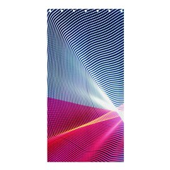 Light Means Net Pink Rainbow Waves Wave Chevron Red Shower Curtain 36  X 72  (stall)  by Mariart