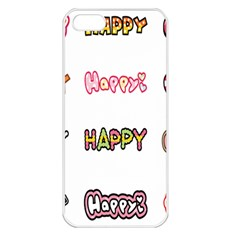 Lucky Happt Good Sign Star Apple Iphone 5 Seamless Case (white) by Mariart