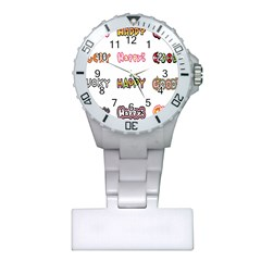Lucky Happt Good Sign Star Plastic Nurses Watch by Mariart