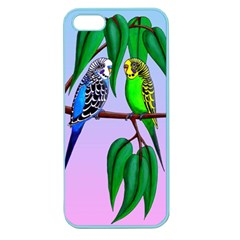 Budgies In The Gum Tree Apple Seamless Iphone 5 Case (color) by retz