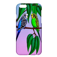 Budgies In The Gum Tree Apple Iphone 6 Plus/6s Plus Hardshell Case by retz