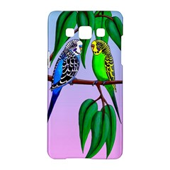 Budgies In The Gum Tree Samsung Galaxy A5 Hardshell Case  by retz