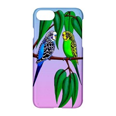 Budgies In The Gum Tree Apple Iphone 7 Hardshell Case by retz